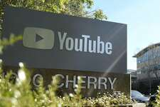 """(FILES) In this file photo taken on April 03, 2018, YouTube's headquarters is seen during in San Bruno, California. - Google-owned YouTube said on February 21, 2019, it was taking action to close a loophole that enabled users to share comments and links on child pornography over the video-sharing service. The response came after a YouTube creator this week revealed what he called a """"wormhole"""" that allowed comments and connections on child porn alongside innocuous videos. (Photo by JOSH EDELSON / AFP)JOSH EDELSON/AFP/Getty Images"""