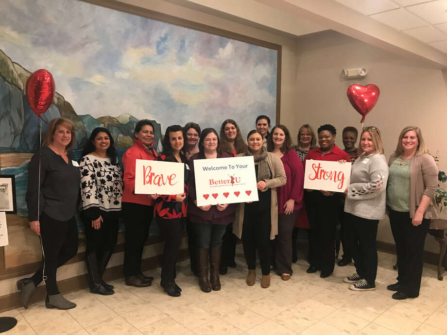 This year's Better U class gathered at the American Heart Association offices Tuesday, Feb. 19. Photo: Leigh Hornbeck/Times Union