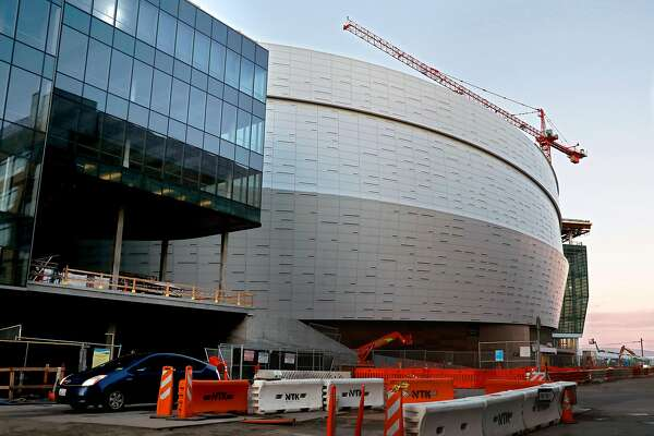 The Chase Center, located at 1601 3rd Street, is under construction in San Francisco, Calif. on Wednesday, February 20, 2019. The mayor and other San Francisco officials are convening a special council to address concerns around congestion and infrastructure tied to the planned September opening of the Chase Center.