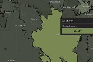 Alvin  Median income: