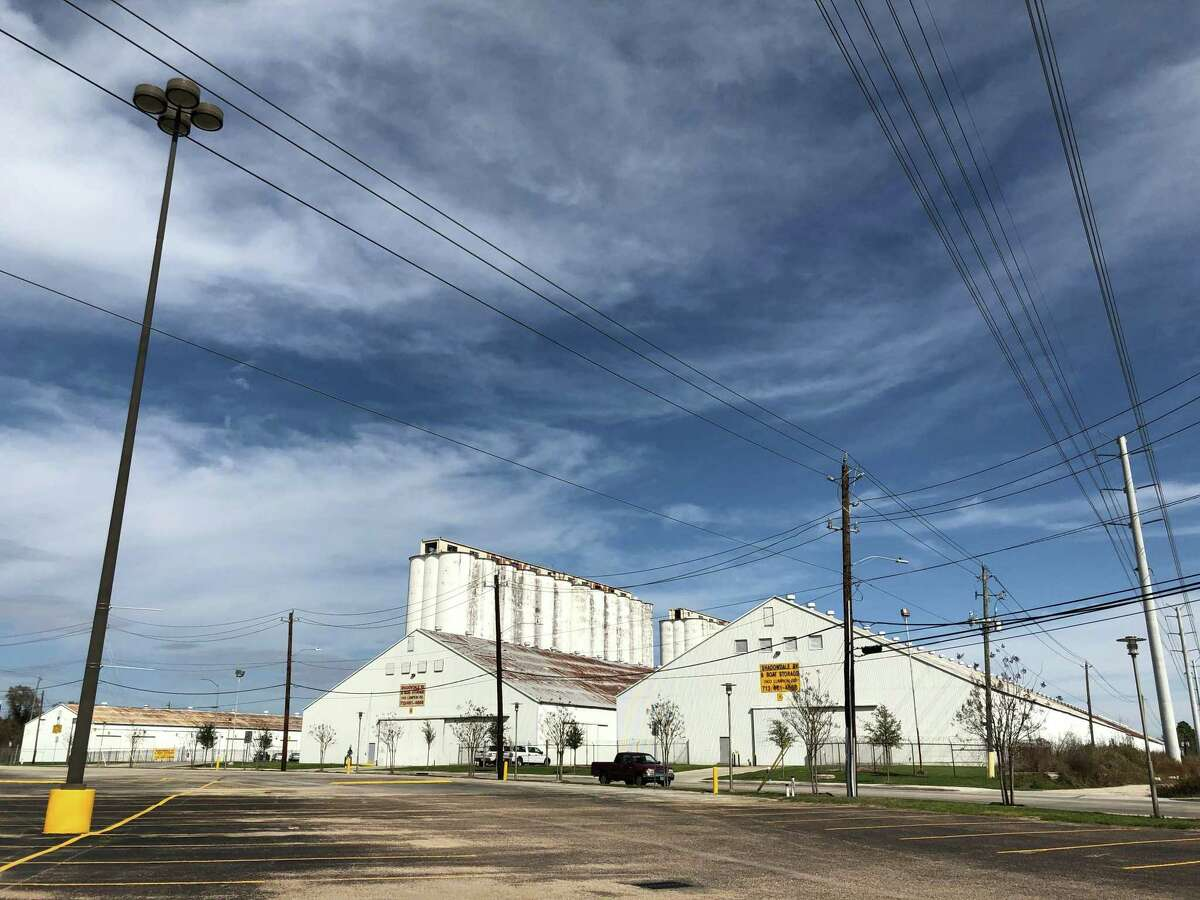 The silos property is behind Home Depot and Sam's Club at the southeast intersection of Lumpkin and Westview.
