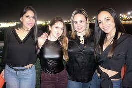 Liss Cardenas, Patty Madrigal, Cecy Morales and Dinorah Ballina at Rooftop Lounge