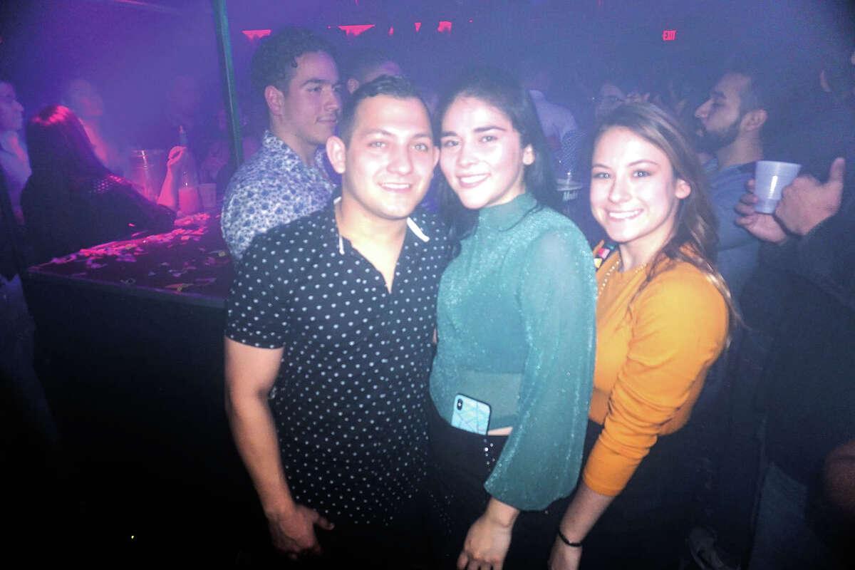 Alex and Noemi Lopez and Fernanda Orduna at Club Vibe