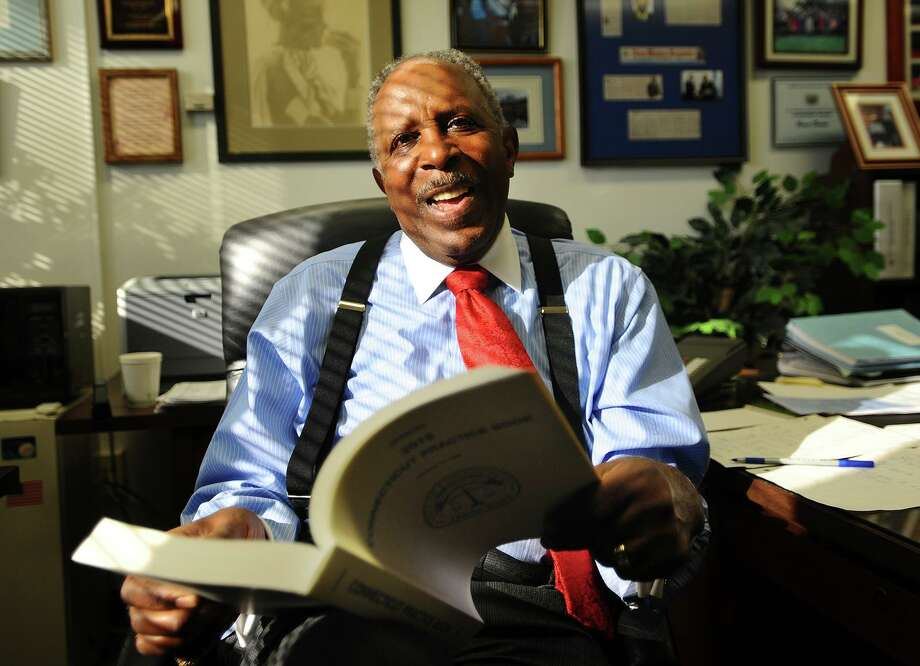 The New Haven Register Person of the Year, the Honorable Justice Lubbie Harper, in his office at the New Haven County Courthouse in New Haven, Conn. on Thursday, December 27, 2018. Photo: Brian A. Pounds / Hearst Connecticut Media / Connecticut Post