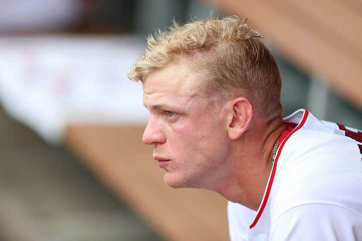 Right-hander Parker Bridwell has a 3.34 career ERA when his numbers against the A's are removed from the equation.
