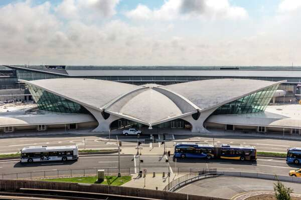 The iconic, 512-room TWA Hotel at New York's JFK airport is now taking reservations and will officially open on May 15, 2019