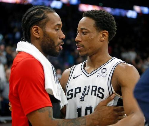 No ordinary road game for Spurs' DeRozan