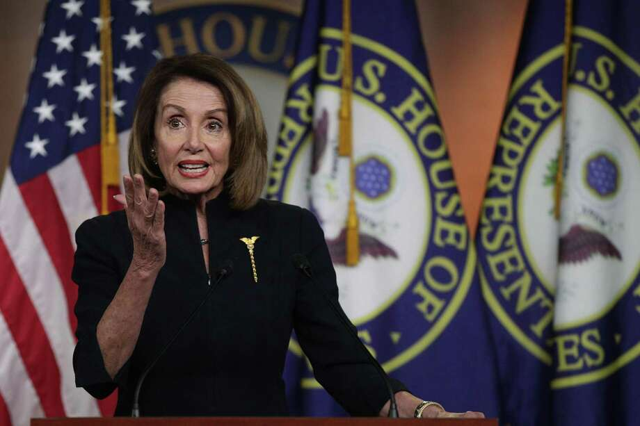 ARCHIVO— La presidenta de la Cámara de Representantes de los Estados Unidos, Nancy Pelosi (D-CA) habla durante una conferencia de prensa semanal en el Capitolio, el 14 de febrero en Washington, D.C. Photo: Alex Wong / Getty Images / 2019 Getty Images