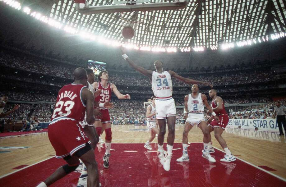 PHOTOS: Throwback photos of the 1989 NBA All-Star Game at the Astrodome