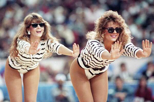 Entertainment during the 1989 NBA All Star Game at the Astrodome, Feb. 12, 1989.