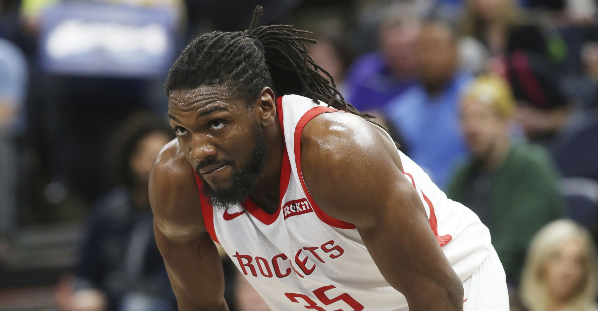 Rockets' Kenneth Faried shifts to power forward with return of Clint Capela