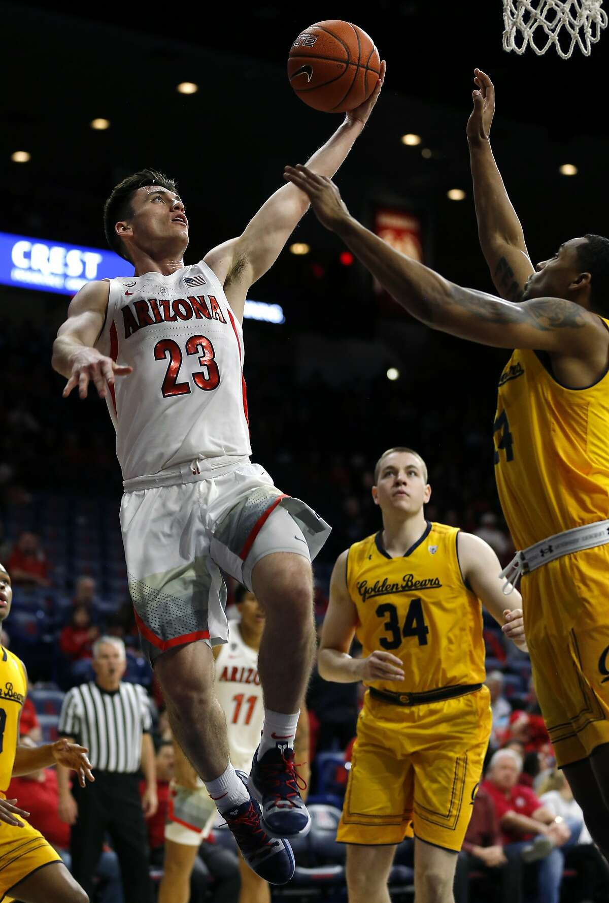 8. Arizona Wildcats (16-12, 7-8 Pac-12) Arizona finally broke out of their seven-game meltdown to sweep Cal and Stanford, giving the beleaguered Wildcats some much-needed momentum. Despite the program's woes involving the FBI, such a down year has to be a disappointing development for a team that had become such a fixture in the Pac-12.