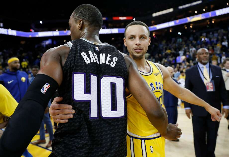 Where are the 2015 and 2016 Golden State Warriors now? Harrison Barnes: With the Sacramento Kings ... for now Barnes left the Warriors to sign a massive four-year $94 million contract with the Dallas Mavericks after Kevin Durant signed with Golden State in 2016. In February, Barnes was traded to the Sacramento Kings in the middle of the game, and has a player option for the 2019-20 season. Photo: Scott Strazzante, The Chronicle