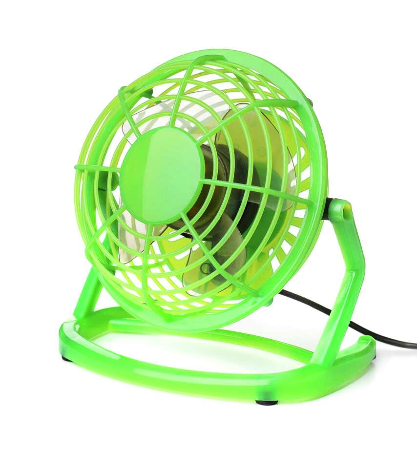Tituss Burgess likes to make a tabletop electric fan, similar to one like this, on his list of things to pack when he travels. (Getty Images/iStockphoto) Photo: Coprid / iStockphoto