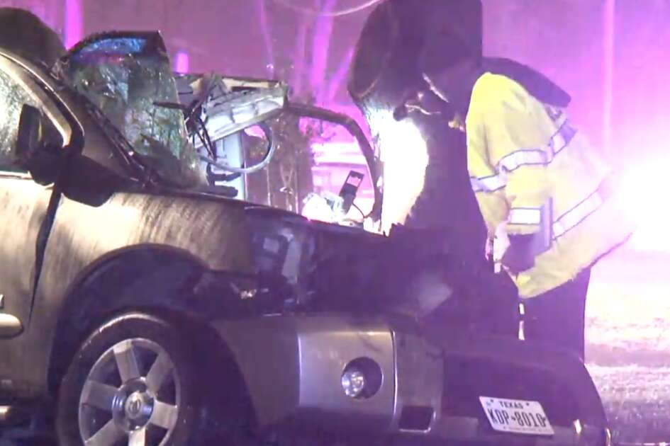 One man died in a single-vehicle crash Friday in southwest Houston. Police say speed may be a factor.