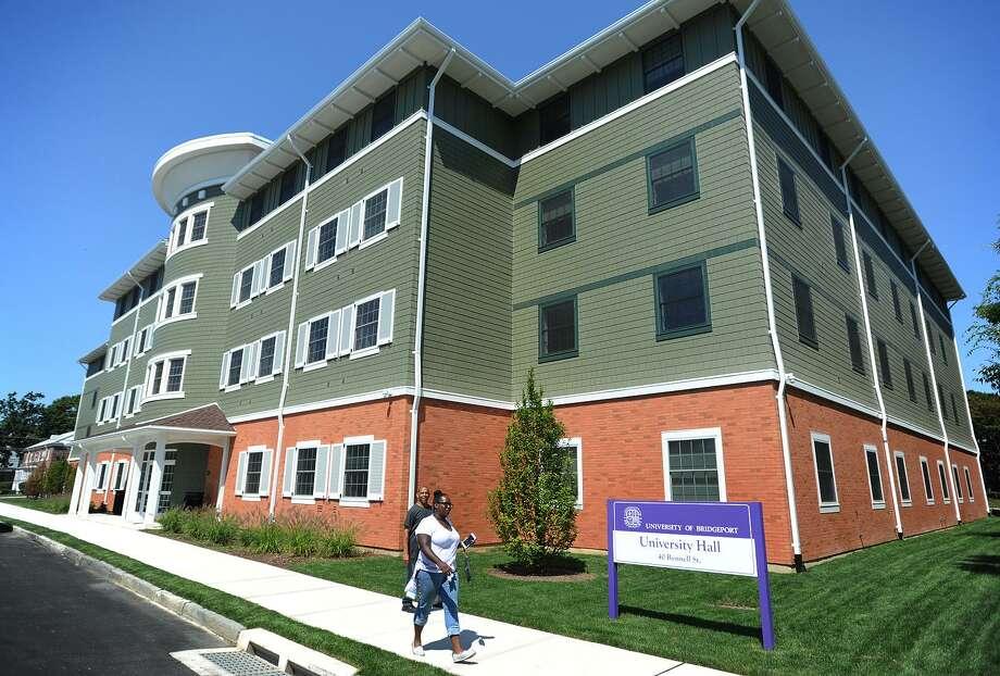 The University of Bridgeport's University Hall. Photo: Brian A. Pounds / Hearst Connecticut Media / Connecticut Post