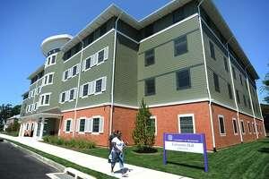 The University of Bridgeport's University Hall.