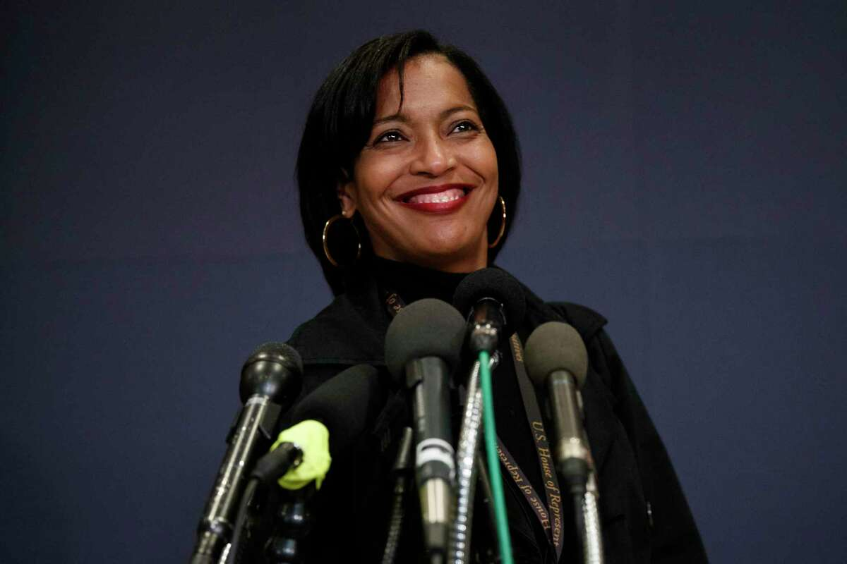 "Could Rep. Jahana Hayes be ""madam secretary' some day?"