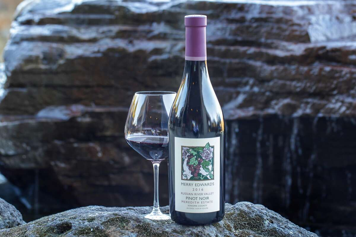 Merry Edwards Pinot Noir is photographed at the winery after the purchase of the iconic Sonoma County winery, Merry Edwards Winery, Thursday February 21, 2019, in Sebastopol, Calif.