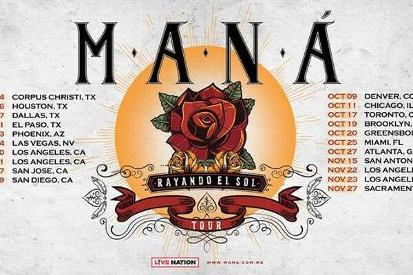Maná's surprise tour announcement includes a San Antonio stop in the fall.