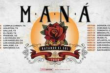 Maná's surprise tour announcement includes a San Antonio stop in the fall.
