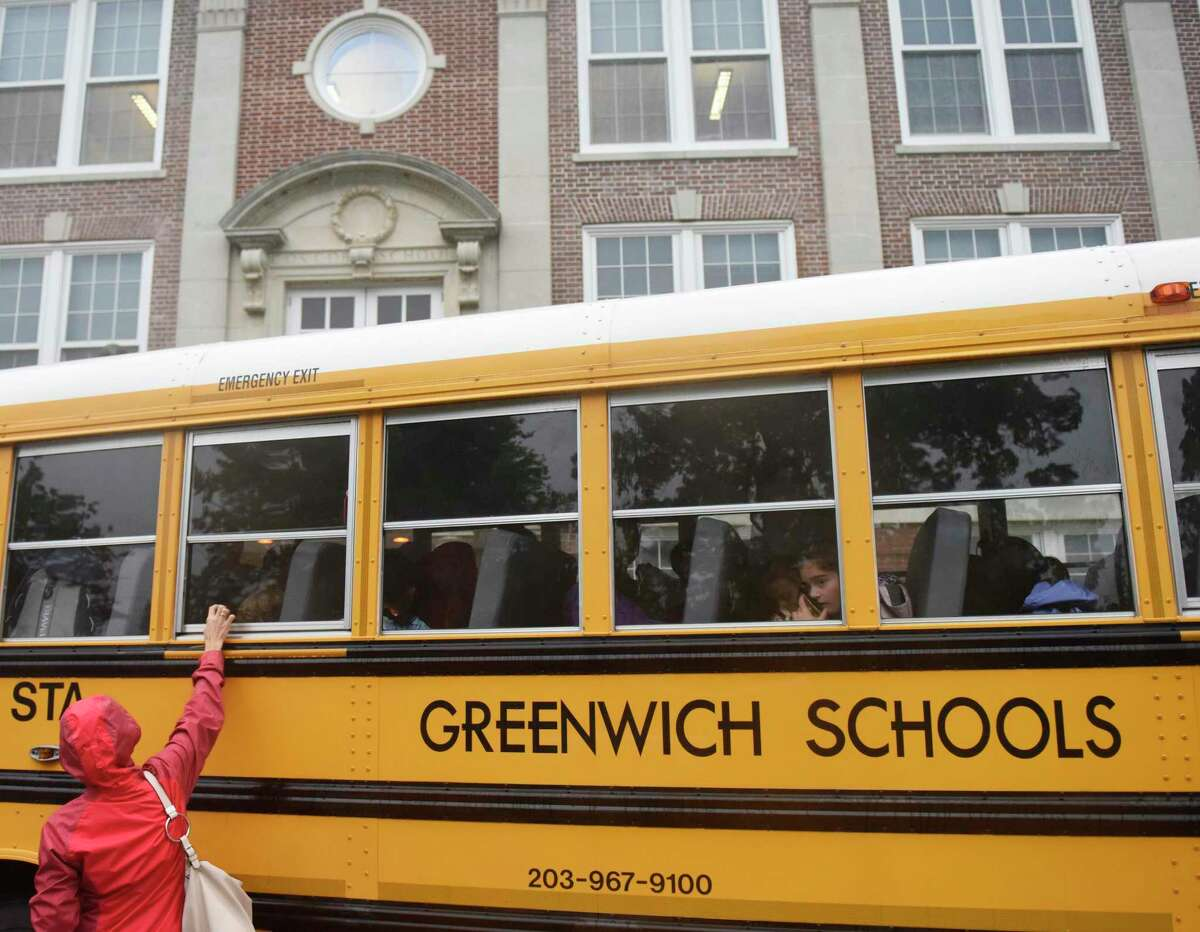 In an effort to cut costs, the Greenwich school district is proposing a consolidation of the bus schedule for the 2020-21 school year.