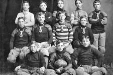 Upper Alton's Western Military Academy played the first high school football game ever played in the St. Louis area in 1895. This was the school's freshman team in 1903.