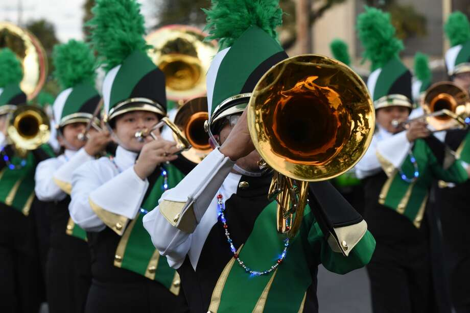 The Laredo Youth Parade Under the Stars wowed viewers with dancers, marching bands and creative floats as it traveled through Laredo streets, Friday, February 21, 2019. Photo: Christian Alejandro Ocampo