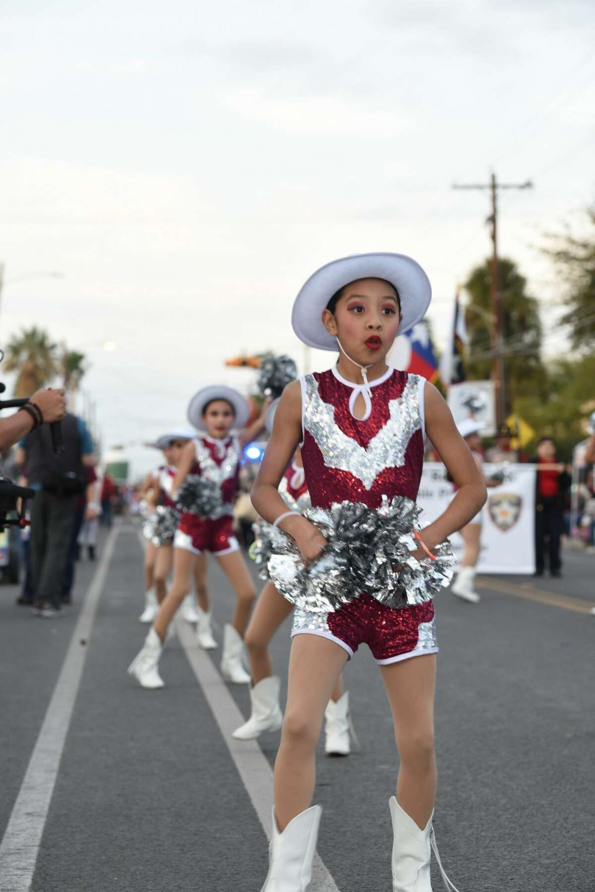 The IBC Youth Parade Under the Stars featured schools and sponsors during its run through San Bernardo Ave, Thursday, February 21, 2019.