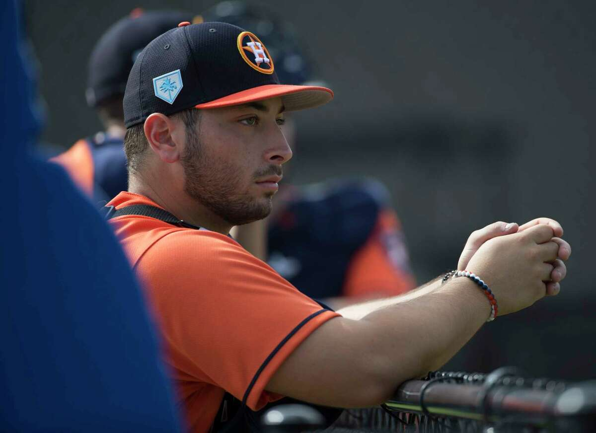 Scott Manea was acquired by the Astros in the trade that sent J.D. Davis to the Mets this offseason.