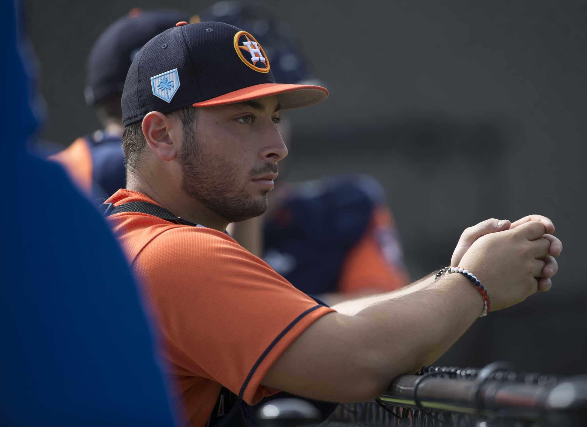 Newcomer Scott Manea gets star-studded introduction to Astros spring training