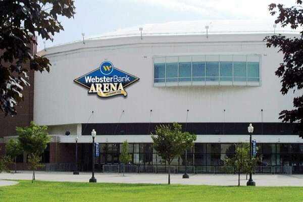 Webster Bank Arena at Harbor Yard.