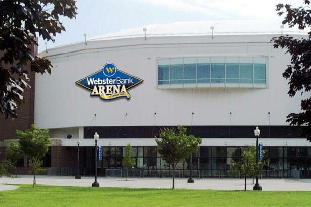 Webster Bank Arena at Harbor Yard.