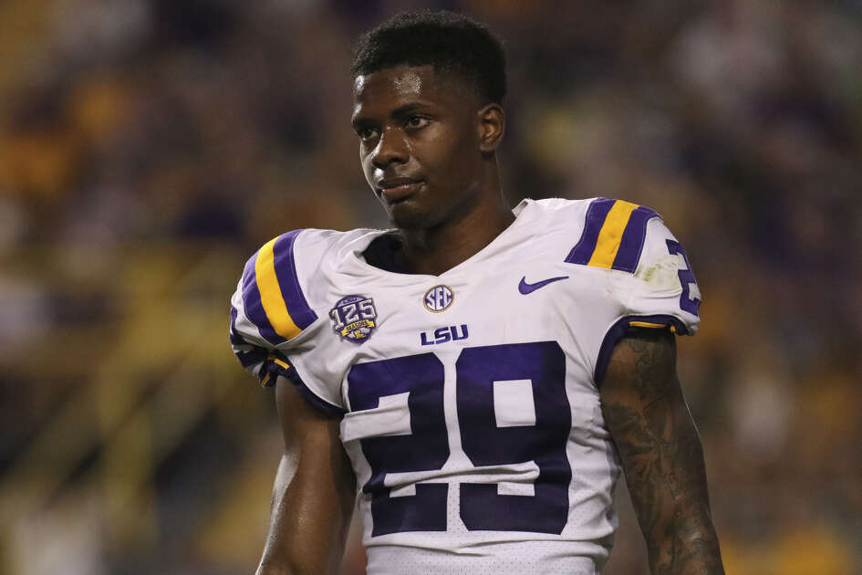 LSU's Greedy Williams arguably is the top cornerback available in this year's draft. The Texans likely will one at least one of their first three picks at that position.