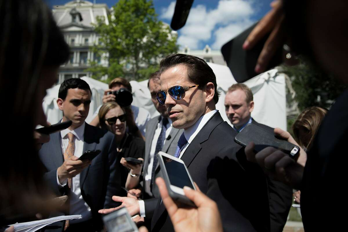 FILE - Anthony Scaramucci, the former White House communications director, in Washington, July 25, 2017. Scaramucci, now a New York hedge fund promoter, is among the ranks of those on Wall Street plowing money into Opportunity Funds, which provide a tax incentive for investments in distressed communities. (Tom Brenner/The New York Times)