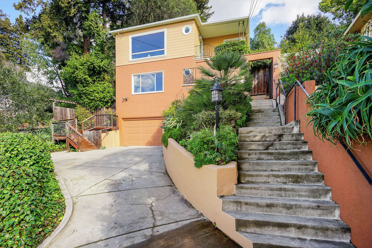 This Oakland home, also vintage, has been updated, and asks $799K.