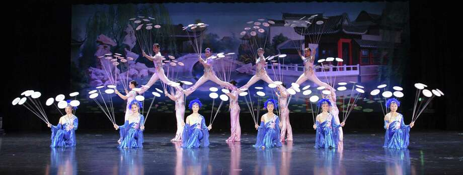 Acrobats of China: The New Shanghai Circusreturns to The Ridgefield Playhouse stage on March 3. Photo: Ridgefield Playhouse / Contributed Photo