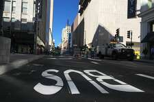 Stockton Street reopened to traffic on Thursday afternoon.