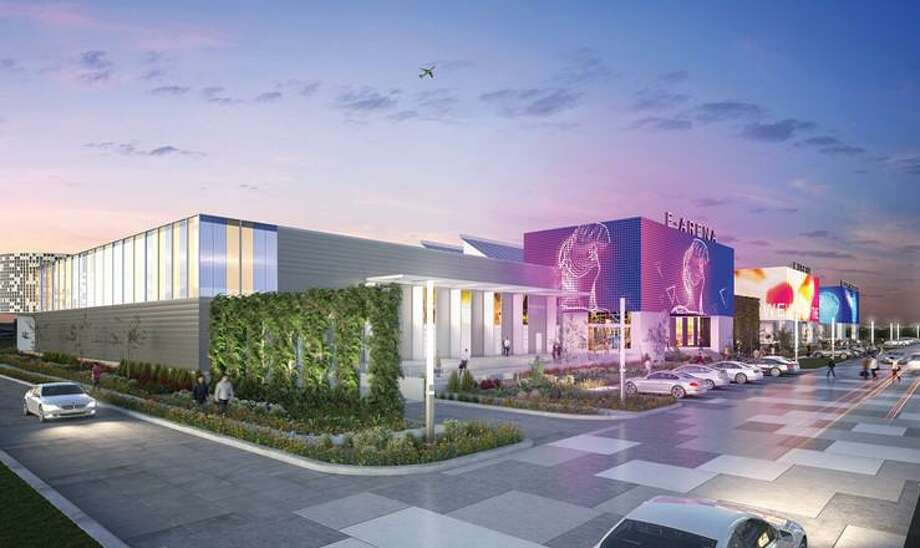 """February 2019 renderings show """"very conceptual"""" ideas for an Innovation Center at Port San Antonio, according to CEO Jim Perschbach. Photo: Illustration Courtesy Of Port San Antonio"""