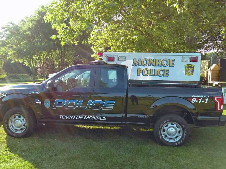 """Monroe police arrested an Atlanta man Aug. 13, 2019 after reports of an """"overly aggressive door-to-door salesman."""" Photo: Contributed Photo / Monroe Police Department / Contributed Photo / Connecticut Post Contributed"""