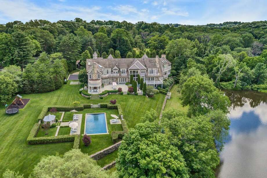 The home at 35 Close Road, in backcountry Greenwich, Conn., has sold for $11.2 million. Photo: Contributed Photo