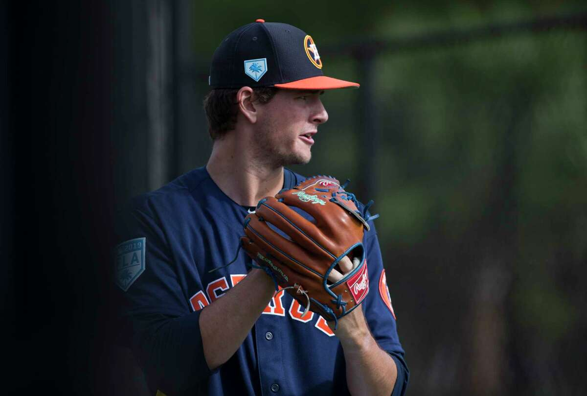 PHOTOS: Houston Astros top prospects in 2019 Houston Astros right handed pitcher Forrest Whitley (68) throws exercise balls before throwing program at Fitteam Ballpark of The Palm Beaches on Day 9 of spring training on Friday, Feb. 22, 2019, in West Palm Beach. >>>Browse through the gallery to see the Astros' top prospects heading into the 2019 season ...