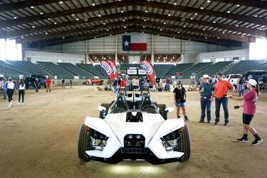 Ghostbusters-themed car rolls into Conroe for Lone Star
