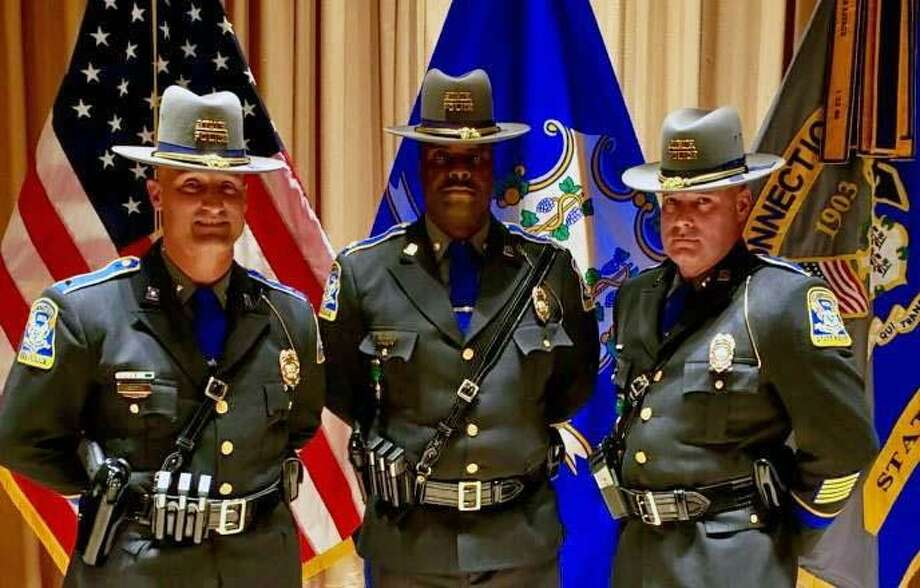 CT State Police promote 3 troopers - Connecticut Post