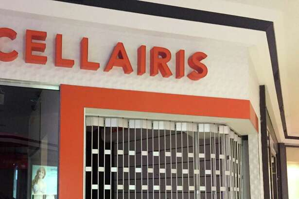 The Cellairis cell phone accessory-and-repair store at the Stamford Town Center mall, as seen on Monday, Feb. 18, 2019, has closed.