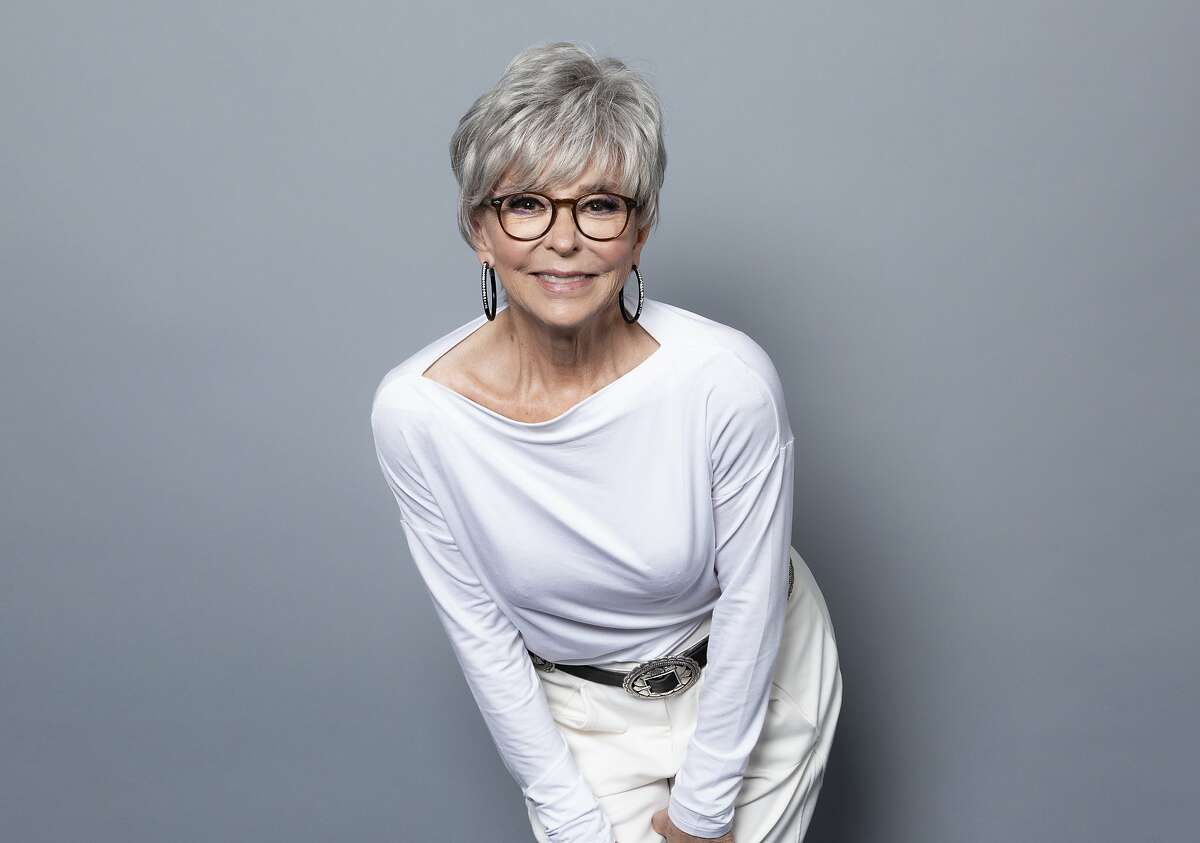 FILE - This July 29, 2018 file photo shows actress Rita Moreno, a cast member of the Netflix series