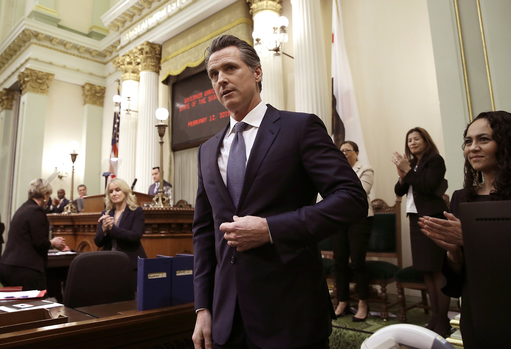 Gov  Newsom to order halt to California's death penalty