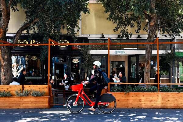 SF parklet proliferation raises concerns about restaurants' use of public space