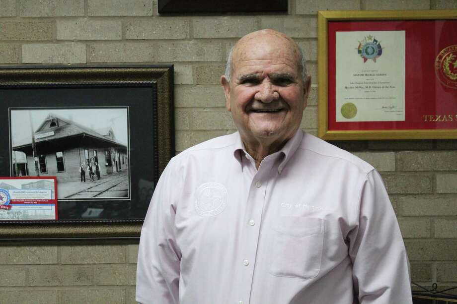 City of Humble Mayor Merle Aaron is seeking a second term. Photo: Kaila Contreras