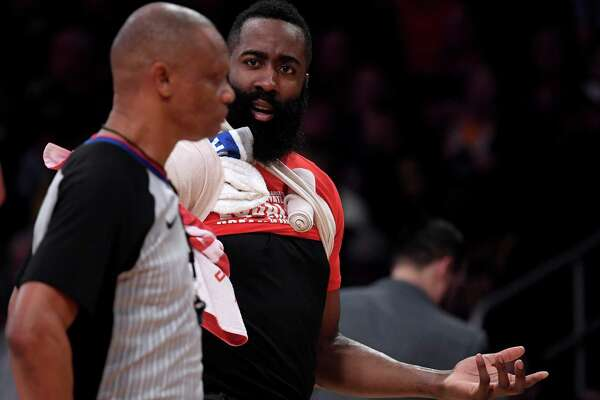 a2f70a998cda NBA fines James Harden for criticism of officials after Rockets ...